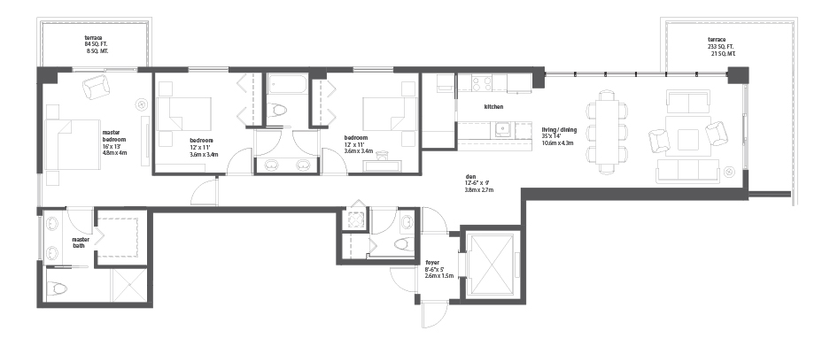 Miami house plans house design plans for Miami mansion floor plans